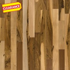 Clearance! Natural Brazilian Pecan Smooth Solid Hardwood