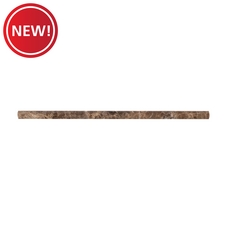 New! Dark Emperador Polished Marble Pencil