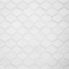 Thassos Mini Arabesque Marble Mosaic