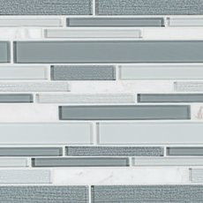 Clarity Stone II Glass Mosaic