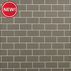 New! Wool Glass Tile
