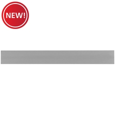 New! Classic Gray Polished Porcelain Bullnose