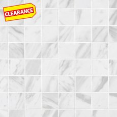 Clearance! Volakas Polished Porcelain Mosaic