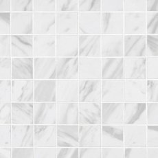 Volakas Polished Porcelain Mosaic