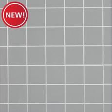 New! Classic Gray Polished Porcelain Mosaic