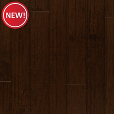 New! Hickory Espresso Handscraped Engineered Hardwood