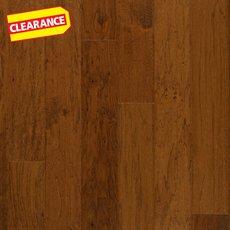 Clearance! Hickory Saddle Handscraped Engineered Hardwood