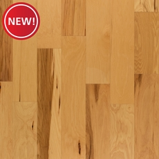 New! Hickory Natural Wire-Brushed Engineered Hardwood