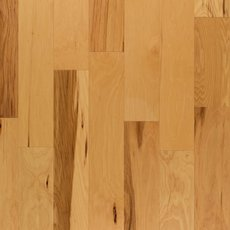 Hickory Natural Wire-Brushed Engineered Hardwood