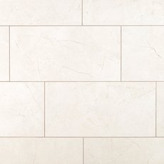 Amelia White Ceramic Tile