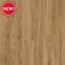 New! Signature Hickory Matte Luxury Vinyl Plank with Foam Back