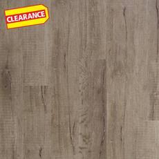 Clearance! Madison Hills Oak Rigid Core Luxury Vinyl Plank - Foam Back