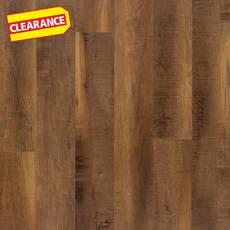 Clearance! Kodiak Oak Rigid Core Luxury Vinyl Plank - Foam Back