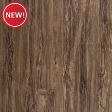 New! Pebblebrooke Oak Matte Luxury Vinyl Plank with Foam Back