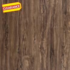 Clearance! Pebblebrooke Oak Rigid Core Luxury Vinyl Plank - Foam Back