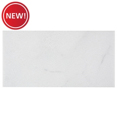 New! Crystal White Polished Marble Tile