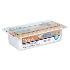 Bona Hardwood Wet Cleaning Pads - 12 Pack
