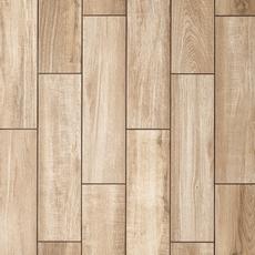Sierra Beige Wood Plank Porcelain Tile 6 X 24
