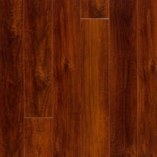 Mahogany High Gloss Rigid Core Luxury Vinyl Plank Cork