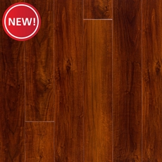 New! Red Mahogany High Gloss Plank with Cork Back
