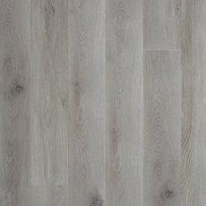Gray High Gloss Rigid Core Luxury Vinyl Plank - Cork Back