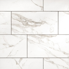 Levante White Ceramic Tile