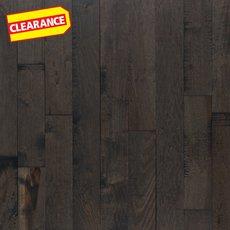 Clearance! Patina Slate Hickory Distressed Solid Hardwood