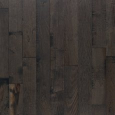 Patina Slate Hickory Distressed Solid Hardwood