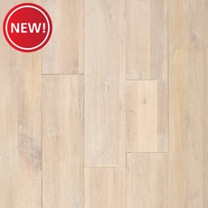 New! Light Gray Oak Wire Brushed Solid Hardwood