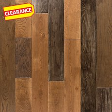 Clearance! Rustic Dream Oak Solid Hardwood