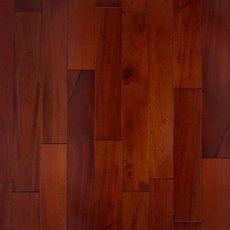 Mahogany Cherry Smooth Solid Hardwood