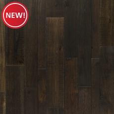 New! Acacia Palm Leaf Solid Hardwood