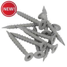 New! Goldblatt 1-5/8in. TRX Cement Screws - 600ct.