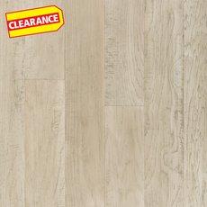 Clearance! Light Gray Hickory Techtanium Locking Engineered Hardwood