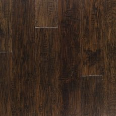 Dark Brown Hickory Techtanium Locking Engineered Hardwood