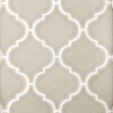 Heirloom Clay Arabesque Porcelain Mosaic