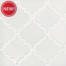 New! Heirloom Linen Arabesque Porcelain Mosaic