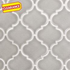 Clearance! Heirloom Pewter Arabesque Porcelain Mosaic