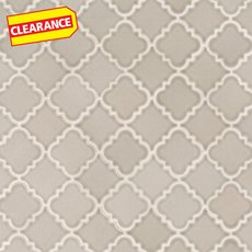 Clearance! Pewter Alimos Polished Porcelain Mosaic