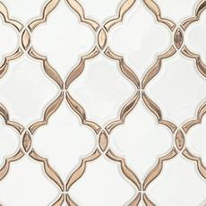 Victorian Oro Polished Porcelain Mosaic