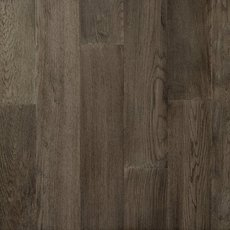 Medium Gray Oak Wire Brushed Water-Resistant Engineered Hardwood