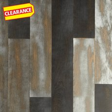 Clearance! Azur Oak Wire Brushed Water-Resistant Engineered Hardwood