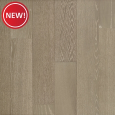 New! Light Mixed Gray Oak Wire Brushed Water-Resistant Engineered Hardwood