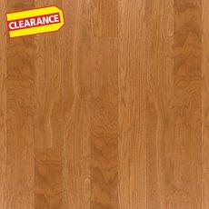 Clearance! Gunstock Oak Smooth Water-Resistant Engineered Hardwood