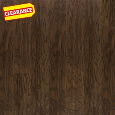 Clearance! Dark Hickory Wire Brushed Water-Resistant Engineered Hardwood