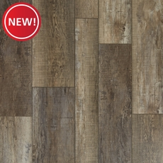 New! River Port Random Width Plank with Cork Back