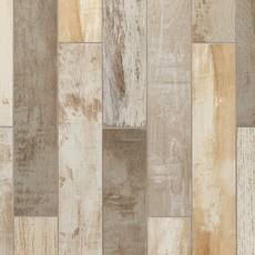 Avalon Pier Multi Color Wood Plank Porcelain Tile