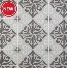 New! Bedford Decorative Porcelain Tile