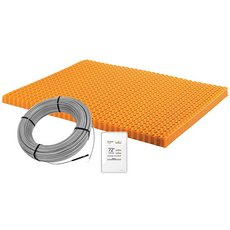 Schluter Ditra-Heat Kit 43.1 Sf Matt and 26.7 Sf Cable