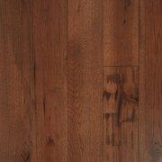 Hickory Dark Distressed Engineered Hardwood